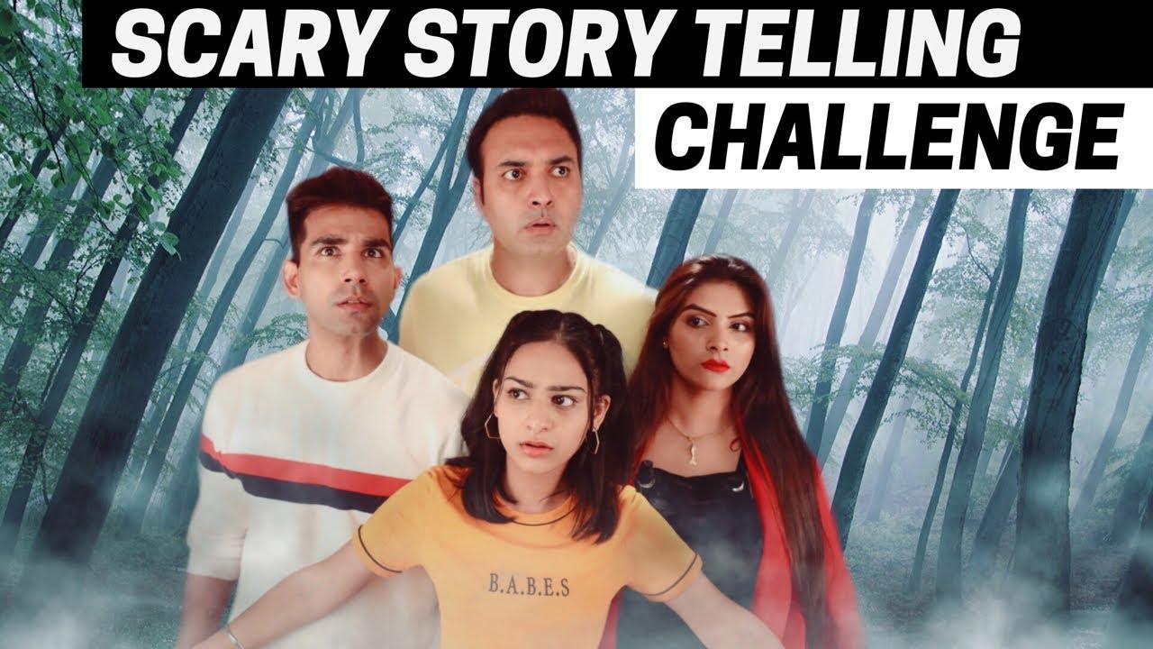 SCARY STORYTELLING Challenge   Rimorav Vlogs - YouTube
