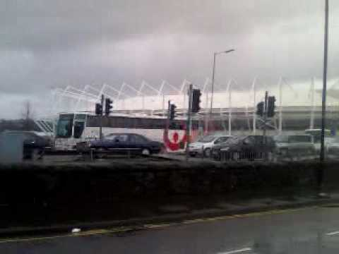 swans leaving liberty stadium for SCUMLAND