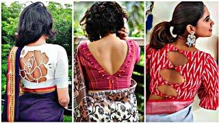 Latest Blouse Designs 2019 || Back neck designs for Blouse 2019 #Indianfashionfix