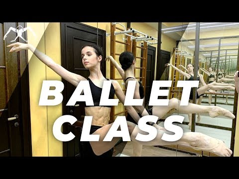 Ballet Class at home for beginners and advanced (Ballet barre workout) [Home class in 2020]
