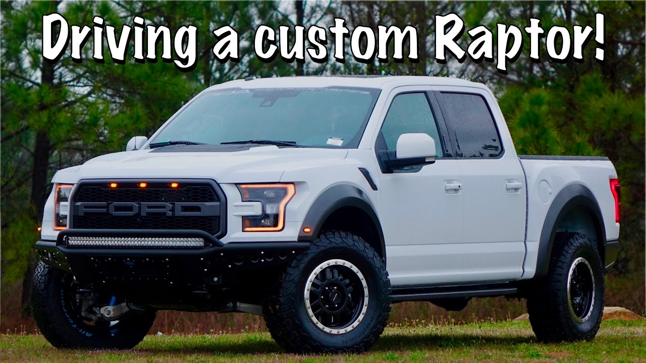 Driving A 2017 Raptor Customized By Southern Comfort Youtube