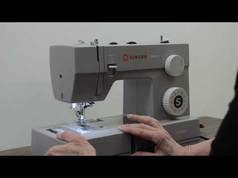 Get Started With The SINGER® Denim Sewing Machine - Tour Your Machine