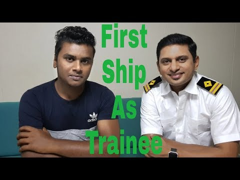 ETSM | FIRST SHIP AS TRAINEE | ENGINE TRAINEE SPEAKS ABOUT LIFE IN MERCHANT NAVY