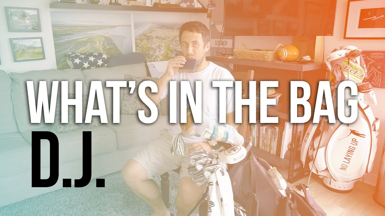What's in the Bag (and why): D.J.