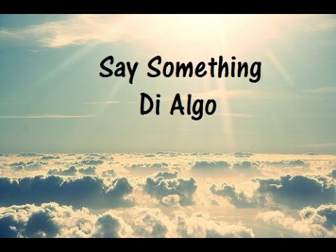 Say Something - Shawn Mendes cover(lyric inglés- español)
