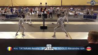Novi Sad European Championships 2018 Day06 WE ROU vs GER
