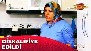 Fatma Hanım, Diskalifiye Edilmek İstedi | Yemekteyiz 28.Bölüm