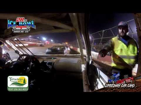 #19 Kaeden Cotton - Hotshots - 1-6-19 Talladega Short Track - In Car Camera