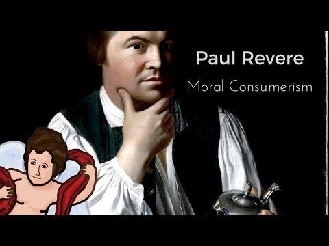 Portrait of Paul Revere: Moral Consumerism