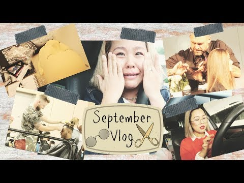 Vlog #37 美容師免許 筆記試験の結果/Premiere Philadelphia Beauty Show  Monthly Vlog September 2018 IAMHOPEP