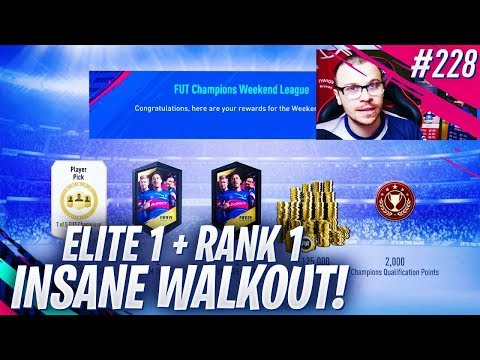 FIFA 19 MY ELITE 1 FUT CHAMPIONS & RANK 1 DIVISION 1 REWARDS! WE PACK AN INSANE WALKOUT PLAYER! thumbnail