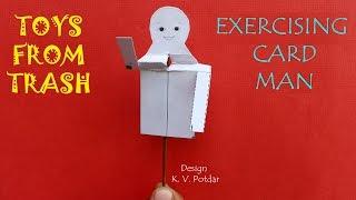 EXERCISING CARD MAN   Kannada