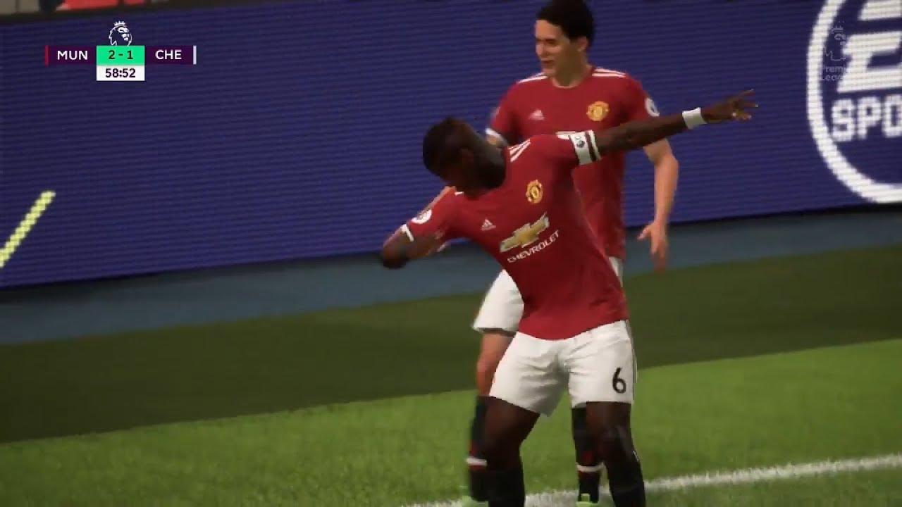 FIFA 18 Paul Pogba DAB Celebration