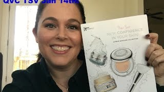 IT Cosmetics QVC TSV!  New Year, New Confidence in Your Skin! Four-Piece Collection!