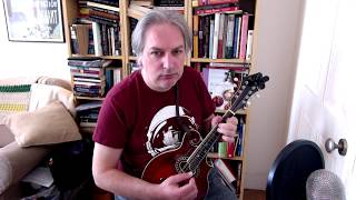 The Morning Star (reel) on mandolin