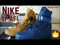 NIKE SPECIAL FIELD AIR FORCE 1 (GS) REVIEW/ON FOOT!!
