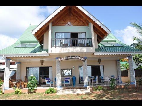 Le Relax Beach House La Digue Seychelles