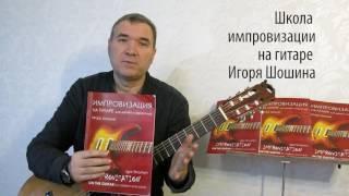 Импровизация на гитаре. Методика Игоря Шошина. Уроки по Skype