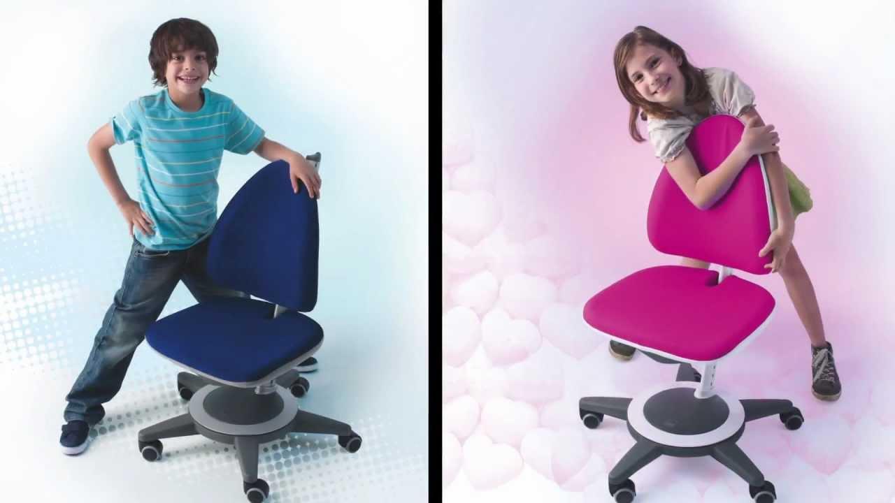 Moll Maximo Adjustable Ergonomic Kids Chair Youtube