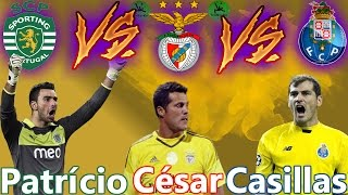 Iker Casillas vs Julio César vs Rui Patrício • Battle of the Rivals │2016