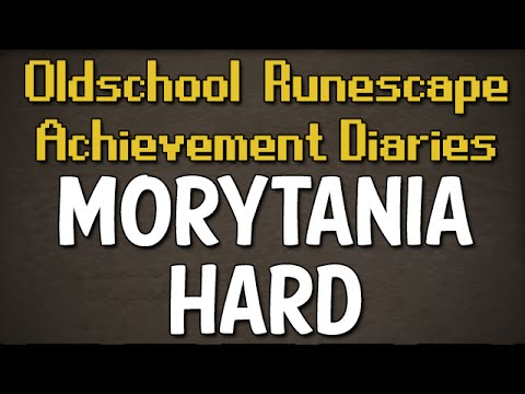 Morytania Hard Achievement Diary Guide | Oldschool Runescape