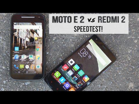 Xiaomi Redmi 2 Vs Moto E 2nd Gen Speedtest!