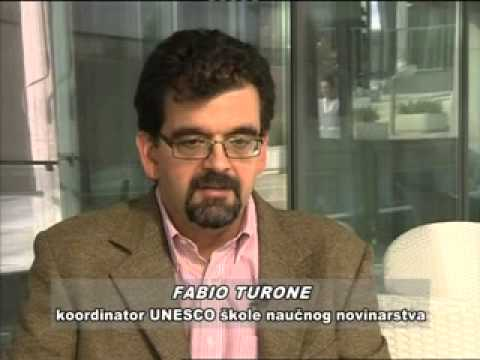 UNESCO Science Journalism workshop Podgorica 2014 – TV Montenegro