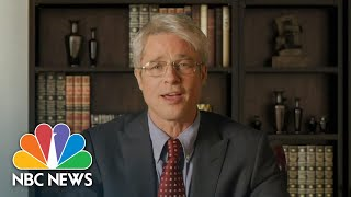 Watch Brad Pitt As Dr. Fauci Diagnose Trump's Covid-19 Response On 'snl' | Nbc News