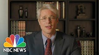 Watch Brad Pitt As Dr. Fauci Diagnose Trump's COVID-19 Response On 'SNL'   NBC News