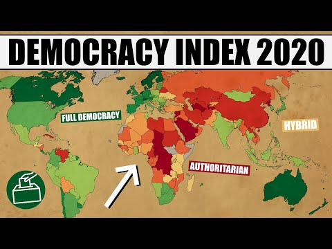 The Most & Least Democratic Countries in the World