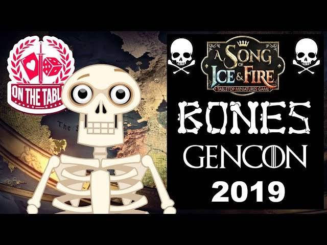 ASOIAF at Gencon2019 Bare Bones Review!