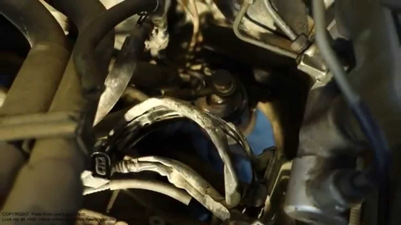 Fuel Filter Upper Bolt Remove Toyota Corolla Youtube Location