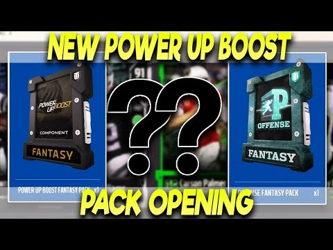 NEW POWER UP BOOST PACK OPENING!! TEN POSITION HEROES PACKS!??| MADDEN 18 ULTIMATE TEAM PACK OPENING