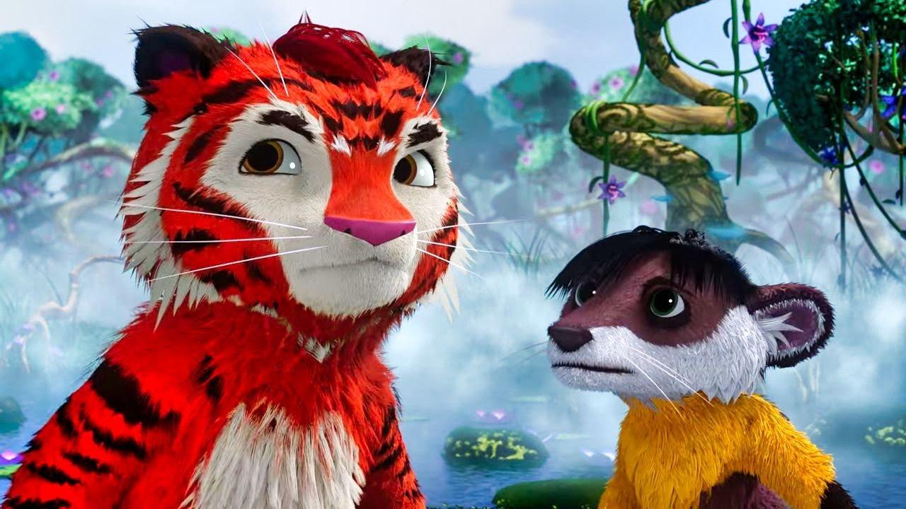 🐾 Лео и Тиг 🐾 –  Хозяин реки  - Мультики для детей – Про животных