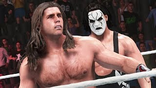 WWE2K19: Beating Sting in Legends: The People's Tower 2K Challenge (HBK '97 Shawn Michaels)