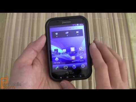 Pantech Pocket (AT&T) video review