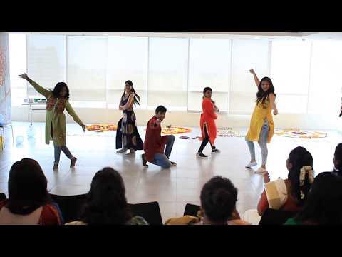 Dance performance at work  Kaala Chashma, Ude Dil Befikre, 1234 Get on the dance floor