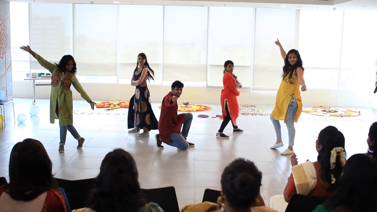 Dance performance at work kaala chashma ude dil befikre for 1 234 get on the dance floor