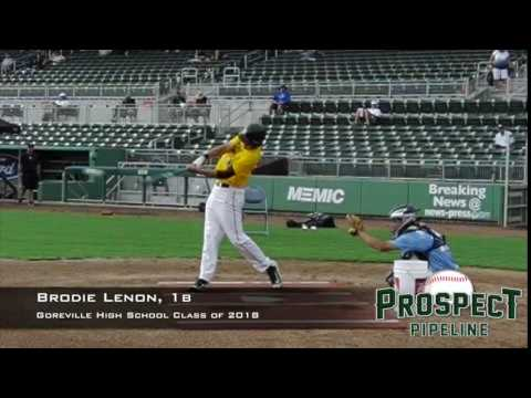 Brodie Lenon, 1b, Goreville High School, Swing Mechanics at 200 FPS