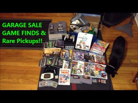 Garage Sale Game Finds Amp Rare Pickups Scottsquatch