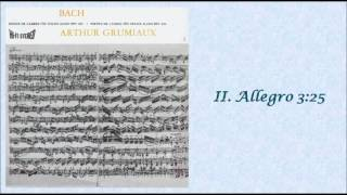 BACH: Violin Sonata No. 2 in A major BWV 1015