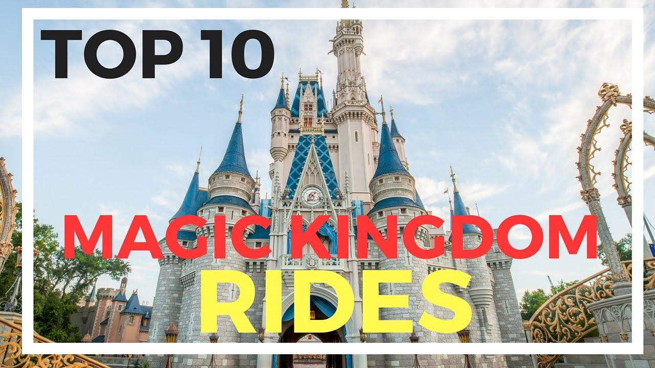 walt disney world magic kingdom rides list
