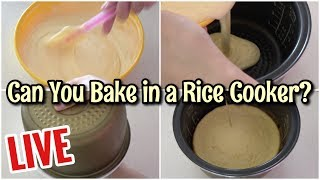 ((LIVE Stream)) #23 Can You Bake a Cake in a Rice Cooker? ((ライブ配信)) 炊飯器でケーキが焼けるか?