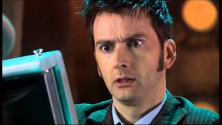 The Tenth Doctor meets Holly from Red Dwarf