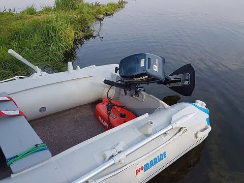 SE Sport 200 hydrostabilizator + Yamaha 8 km +  Pro Marine 290 forsage | test