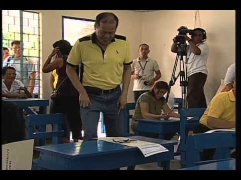 President Benigno S. Aquino III Cast His Vote for 2013 Mid-term Election 5/13/2013