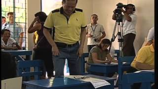 President Benigno S. Aquino III Cast His Vote for 2013 Mid-term Election 5/13/2013