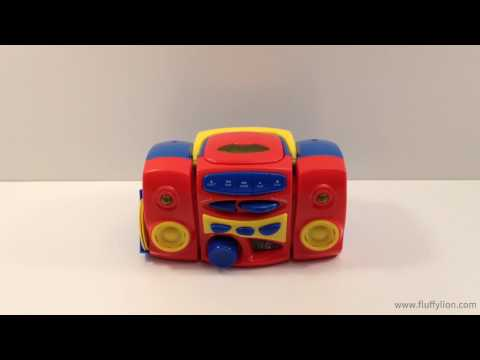 Kids CD Player Toy with Music Nursery Rhymes