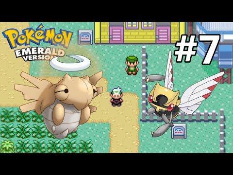 Český Let's play - Pokemon Emerald  - #7 Děti Bohyně