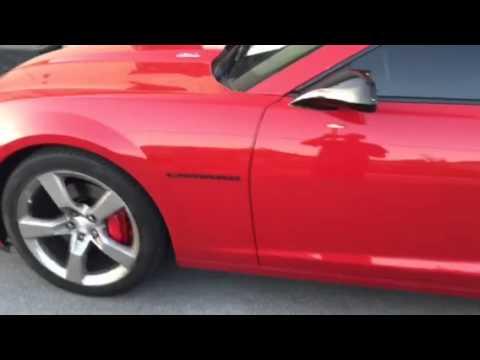 Chevy Camaro add shock sensor to factory alarm